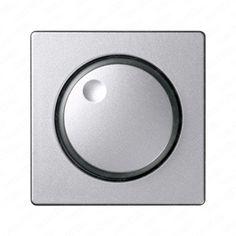 placa mecanismos electrnicos giratorios simon detail color aluminio marca