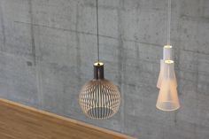 The Secto 4200 and Octo 4240 Pendant Lamps from Secto Design