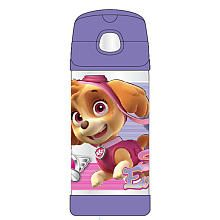 Thermos Stainless Steel Paw Patrol Girl FUNtainer Straw Bottle  12 Punce