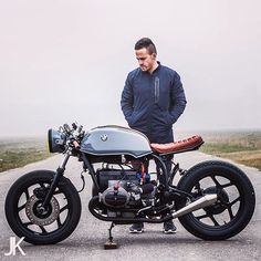 Moto-Poetry: the latest BMW #caferacer by @arjanvandenboom shot by @jacksonkunis.