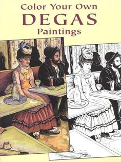 love this site that sells coloring books from famous artists