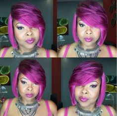 Purple Mania With @neicy718 - http://community.blackhairinformation.com/hairstyle-gallery/short-haircuts/purple-mania-with-neicy718/