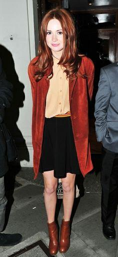 Karen Gillan's Style