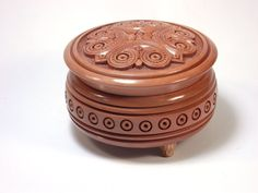 Round box for jewelry. Compact and roomy boxes for от NovaHata
