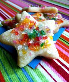Vanilla Cream Cheese Sugar Cookies--love those big fat sugar crystals...crunch!