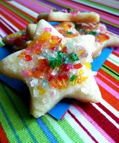 Vanilla Cream Cheese Christmas Sugar Cookies!!