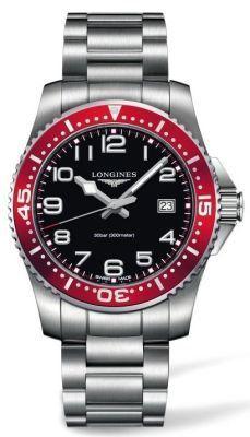 Longines HydroConquest Black Dial Stainless Steel Bracelet Mens Watch L36894596 - List price: $1,000.00 Price: $850.00 Saving: $150.00 (15%)