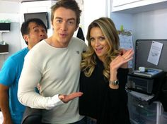 Amanda Schull and robert buckley