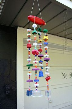 DIY Wind Chime Ideas to Try This Summer (40)
