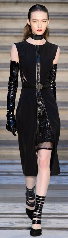 Pin for Later: Julien Macdonald Channels 50 Shades of Gorgeousness