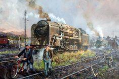 Fine Art Prints of Railway Scenes & Train Portraits - Steel Shires