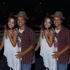Pictures of Bruno Mars and His Girlfriend Jessica Caban | POPSUGAR Celebrity