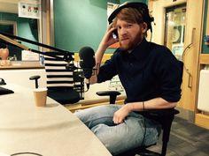 Domhnall at BBC Radio 6