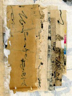 'Color Bar' -by Kathleen Amt (gr8plunder) via Flickr http://www.pinterest.com/ersimarina/mixted-media-collage/
