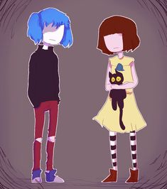 Sally Face and Fran Bow<<<fuck what board do I save this to Marceline, Game Character, Character Design, Little Misfortune, Creepy Games, Bow Art, Sally Face Game, Rpg Horror Games, Cartoon Crossovers