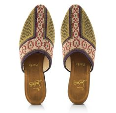 "Balthus ""Rossinière"" slippers by Christian Louboutin"