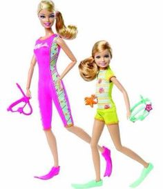 Stacie and Barbie scuba diver