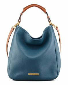 Softy Saddle Large Hobo Bag, Blue by MARC by Marc Jacobs at Bergdorf Goodman.