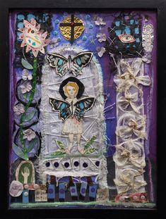 Mama's Angel by Blair Hobbs Hobbs, Amazing Art, Contemporary Art, Art Gallery, Angel, Painting, Art Museum, Painting Art, Paintings