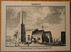 Newent Church by Thomas Bonner 1792. Some of my ancestors were from Newent - if you're researching the surnames Leighton or Layton, do get in touch! esjones <at> btopenworld.com