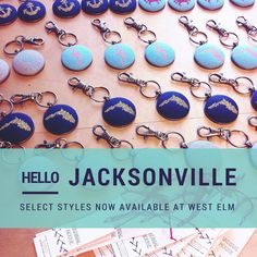 Cardinal House now at West Elm Jacksonville, FL!