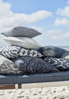 Designed for active living and exposure to the elements in mind, Thibaut introduces Solstice—a collection of Sunbrella® indoor/outdoor fabrics that have style with staying power. Outdoor Fabric, Indoor Outdoor, Outdoor Living, Batik Pattern, Big Design, Wallpaper Online, Sunbrella Fabric, Fabulous Fabrics, Fabric Wallpaper