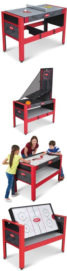 Other Indoor Games 36278: Majik 48 5 In 1 Swivel Table, Games Hockey Archery Basketball, Tennis Football -> BUY IT NOW ONLY: $143.55 on eBay!