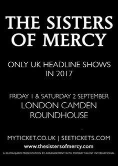 The Sisters Of Mercy will play their only exclusive UK headline showWithGuitars