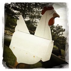 5/16/13 Whats Better Than A Chicken Mailbox? | Flickr - Photo Sharing!