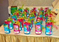 Party favors from Bath & Body Works