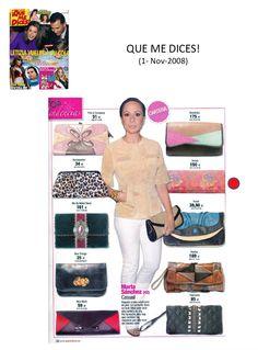 #Colaboraciones con la #Revista QUE ME DICES!. Noviembre 2008.