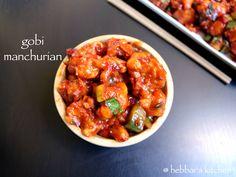 gobi manchurian dry recipe | gobi manchuria recipe | cauliflower manchurianis a popular indo chinese dish. with step by step photo and video recipe