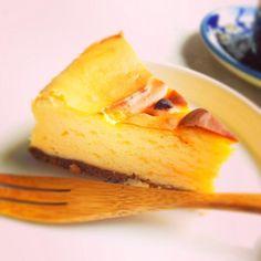 今日のおやつ - 18件のもぐもぐ - チーズケーキ by micireko