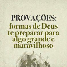 PROVACOES: FORMAS DE DEUS TE PREPARAR PARA ALGO GRANDE E MARAVILHOSO