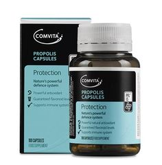 Comvita® Propolis Capsules contain Propolis, which is created by bees from the natural resin produced by trees as part of their defence system. Honeybees collect the resin, mix in beeswax and enzymes, and use it to protect the hive. Propolis Benefits, Manuka Honey Benefits, Bee Propolis, Capsule, Health And Wellbeing, Natural Health, Health And Beauty, New Zealand, Health Care
