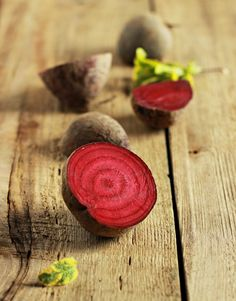 We love the inside rings of the beets. What a beautiful natural design.