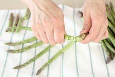 asparagi al forno Holding Hands, Pasta, Contouring, Gastronomia, Vegetables, Recipes, Dinner, Noodles, Pasta Dishes