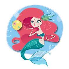 Little Mermaid by BreakFastJones Check more: http://breakfastjones.blogspot.com
