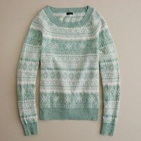 Dream Fair Isle Crewneck Sweater - J Crew