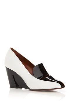 Shop Danila Wedge by Calvin Klein Collection for Preorder on Moda Operandi