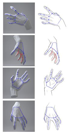 Hands Reference Drawing, Drawing Hands, Hand Reference, Art Reference Poses, Drawing Poses, Drawing Tips, Sketching Tips, Drawing Drawing, Body Drawing Tutorial