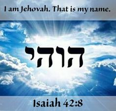 I am Jehovah