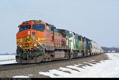 RailPictures.Net Photo: BNSF 4980 BNSF Railway GE C44-9W (Dash 9-44CW) at Osborn, Illinois by Tom Farence