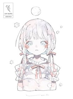 Anime Art Girl, Anime Girls, Fashion Art, Manga, Retro, Drawings, Illustration, Cute, Art Styles