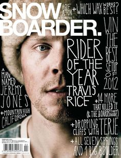 snow boarder magazine