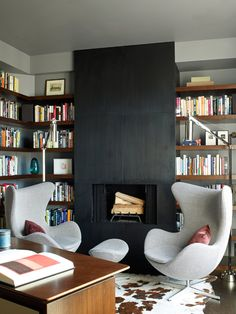 A Chic, Modern Apartment That's Not Chilly  - HouseBeautiful.com