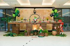 ideia de como decorar festa peter pan