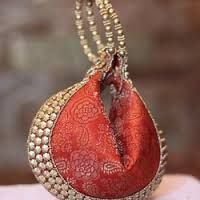 Image result for indian potli bags Wedding Bags, Potli Bags, Indian, Christmas Ornaments, Holiday Decor, Image, Home Decor, Xmas Ornaments, Decoration Home