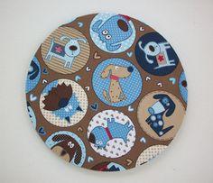 mousepad / Round Mouse Pad / Mat   USA Dogs  teacher  by Laa766, $10.00  chic / cute / preppy / teacher / student / laptop accessory / desk accessory / office decor / graduation / dorm / gift