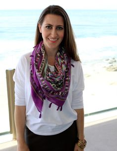 All proceeds from our scarves goes to our kikaCares philanthropic projects, helping dress women in need.